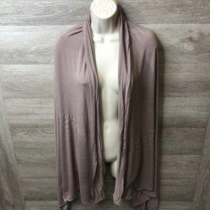 Asos Womens One Size Mauve Scarf Shawl Oversized